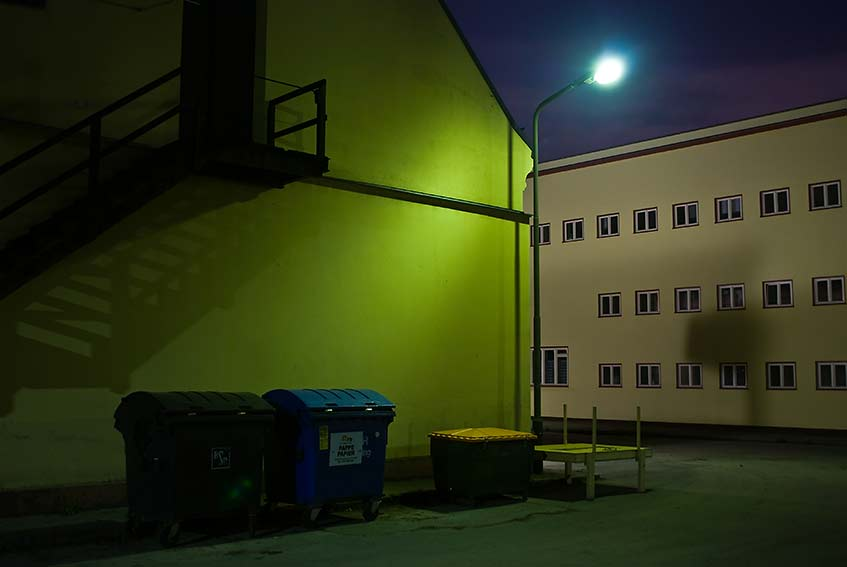 My hidden place in Berlin at night - Andrés Felipe Carulla Fotograf